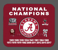 Item#365 Alabama Crimson Championship Banner Mouse Pad