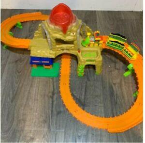 PBS Dinosaur Train Playset train track motorized set Fully functional mountain