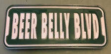 "BEER BELLY BLVD BUCKLE NEW APPROXIMATELY 4 1/2"" X 2"""