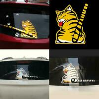 3D Cat Dog Moving Tail Stickers Style Car Windshield Wiper Window Stickers A7Z4