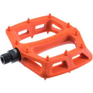 """DMR V6 Pedals 9/16"""" Plastic Platform Orange"""