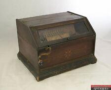 "Pat. 1887 Stencil Borden ""American Music Box"" Concert Roller Organ 14 Rolls T1X"