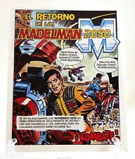 "1988 Exin 3-3/4"" Madelman 2050 'COMBAT' Spanish mini-comic - VERY RARE & Unused"