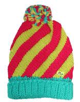 MaxiMo Mädchen Winter Mütze Beanie Strickmütze Bommelmütze