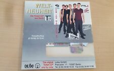 N Sync - Konzert-Ticket CD For The Girl Tour 97 Mannheim Rosengarten 1.10.97
