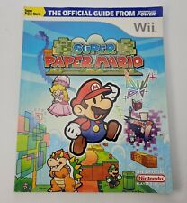 Official Nintendo Super Paper Mario Player's Guide Nintendo Wii (Nintendo Power)