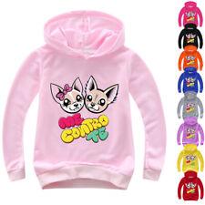 Boys Girls Me Contro Te Kids Spring Fall Casual Hoodies Pullover Sweatshirt