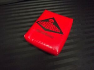 """Used Red Century Martial Arts 9"""" x 11"""" Rectangle Hand Training Target Pad Clean"""