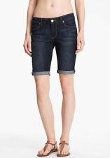 NWT PAIGE PREMIUM DENIM Jax Stretch Bermuda Cuff Shorts Jeans Size 28 Kayla Wash