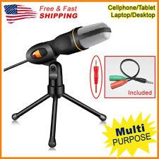 Professional Audio Condenser Microphone Mic Studio Sound Recording Stand Tripod
