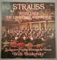 Strauss: Histoires De La Foret Viennoise/Boskovsky/France 1967 Decca VG+
