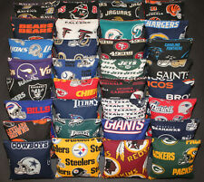 Set of 8 CORNHOLE BAGS PICK YOUR TEAMS! Regulation Size~Top Quality Handmade!