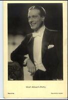 WOLF ALBACH-RETTY Schauspieler ca. 1950/60 Porträt-AK Postkarte Film Bühne