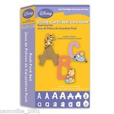 CRICUT *DISNEY WINNIE THE POOH* FONT CARTRIDGE NEW SEALED EXPRESSION CREATE CAKE