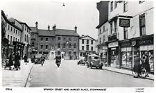 Ipswich Street Market Place Stowmarket Boots Shop unused RP old postcard Frith