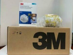 3M8511 Particulat Respiratoor W/ Exhalation Valve 1 CASE OF 8 BOXES EXP 02/2026