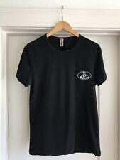 "JOHN GALLIANO Lounge WEAR BLACK Soft CREWNECK Logo T SHIRT Medium 48 38"" Chest"