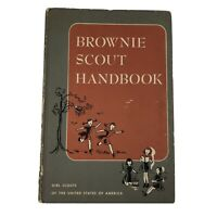 Vintage 1951 Brownie Scount GSA Hardcover Book Printed in USA VTG Collectible