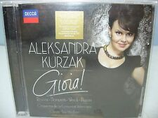GIOIA! Aleksandra Kurzak-soprano, Valencian Community O/Wellber, Decca NEW