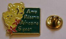 Pins LEOPARD et bébé baby PANTHERE Amis Reserve Africaine Sigean pin badge