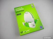Q2 Power Dock & Charge Lightning Handy Dockingstation in Weiß, Grün für iPhone