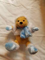 "8"" Winnie the Pooh - Dreaming Of A Disney Holiday 2007 Bean Bag Plush"