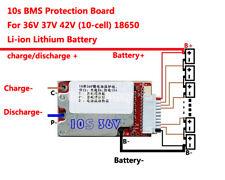 36V 37V 42V 10S 15A-45A Lithium Li-ion Battery PCB Li-Po LiPo Polymer BMS Board