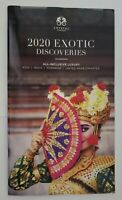 2020 Crystal Cruises EXOTIC Discoveries All-Inclusive Travel Cruises NEW!