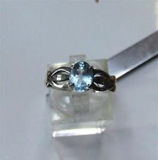 Topaz Solitaire Not Enhanced Fine Rings