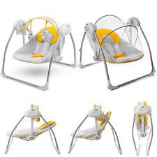 Kinderkraft Nani Yellow Baby Bouncing Chair Swing Seat Bouncer Rocker Carry