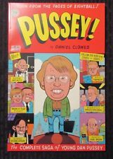 1995 PUSSEY! by Daniel Clowes NM 1st Fantagraphics - Complete Saga - Eightball