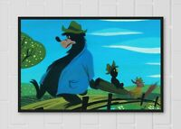 """Giclee Disney Print Mary Blair /""""Song of the South/"""" Concept Art #3"""
