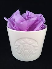 Small White Starbucks Mug Cup Embossed Boxes Shots Syrup Custom Milk