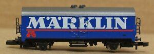 Marklin Mini-Club 2451A Boxcar *missing axle/no box* Z-Scale