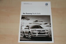 77176) VW Touareg North Sails - Technik & Preise & Extras - Prospekt 05/2009