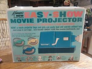 1965 Kenner Easy Show Movie Projector Set with in Box
