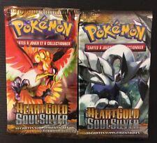 Lot De 2 Original Booster Neuf Pokémon Heartgold Soulsilver