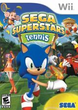 Sega Superstars Tennis (Nintendo Wii, 2008) LN, COMPLETE FAST LOW SHIPPING