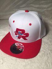 BORICUA STYLES SNAP BACK HAT (PEURTA RICO) RED & WHITE