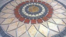 Rosoni rosone mosaico in marmo mosaici su rete per interni ed esterni