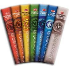 Hem's 7 CHAKRA Incense Sticks!  35 Sticks!