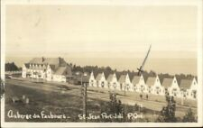 St. Jean Port Joli Quebec Auberge du Faubourg c1950 Real Photo Postcard