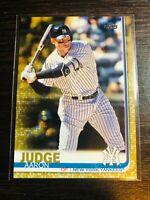 2019 AARON JUDGE TOPPS SERIES 1 GOLD PARALLEL #d 1032/2019 New York Yankees #150