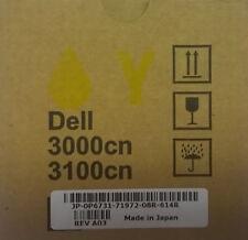 Dell Original Toner P6731 gelb  593-10066 für 3000cn/3100cn  OVP  Rechn.+MwSt.