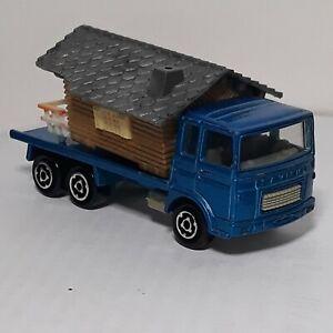 Majorette Saviem Chalet Camion Miniature 1/100 des années 1976