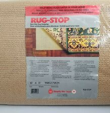 Simply the Best Non-slip Rug Underlay Natural 6' x 9' New Made in USA