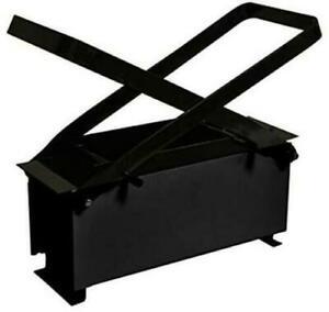 Paper Log Briquette Maker – Heavy Duty Fire Brick Press Eco Wood Burning Fuel