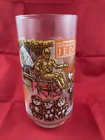 Star Wars Return of the Jedi 1983 Vintage Burger King Drinking Glass C3PO Ewoks
