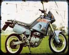 GILERA Nordwest 600 91 2 A4 Foto Impresión moto antigua añejada De
