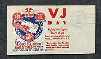 1945 VJ Day Cachett US Army Postal Service APO Cover